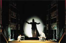 Prague Opera: Don Giovanni, Prague Estates Theatre - final scene. Prague Opera Tickets online